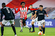 Pablo Rosario of PSV, Douglas Augusto of PAOK during the UEFA Europa League, Group E football match between PSV and PAOK on november 26, 2020 at Philips Stadion in Eindhoven, Netherlands - Photo Perry vd Leuvert / Orange Pictures / ProSportsImages / DPPI