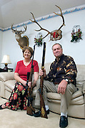 Carolyn and Harry Steinback are avid big hunters who have a passion for the sport as a family event.