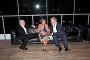DAMIEN HIRST; MAIA NORMAN, Damien Hirst, Tate Modern: dinner. 2 April 2012.