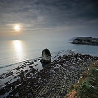 My Sigma 10mm & cokin ND4 help me catch the rock formations at Freshwater Bay with a bit of diffused winter sunshine