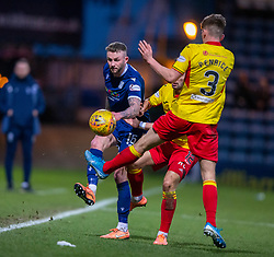 Dundee's Christie Elliot. Dundee 2 v 0 Partick Thistle, Scottish Championship game played 8/2/2020 at Dundee stadium Dens Park.