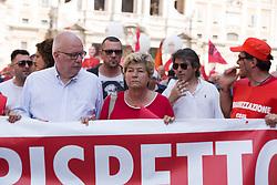 June 17, 2017 - Roma, RM, Italy - CGIL leader Susanna Camusso (Credit Image: © Matteo Nardone/Pacific Press via ZUMA Wire)