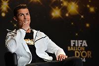 Zuerich, 12.1.2015, FIFA Ballon d'Or 2014, Cristiano Ronaldo (POR)  an der FIFA Ballon d`Or Gala 2014. (Melanie Duchene/EQ Images)