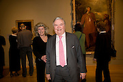 GAY JOHNSON; PETER JOHNSON, Van Dyck private view and dinner. Tate Britain. 16 February 2009 *** Local Caption *** -DO NOT ARCHIVE -Copyright Photograph by Dafydd Jones. 248 Clapham Rd. London SW9 0PZ. Tel 0207 820 0771. www.dafjones.com<br /> GAY JOHNSON; PETER JOHNSON, Van Dyck private view and dinner. Tate Britain. 16 February 2009
