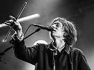 Frederik Rabe of German indie-pop band Giant Rooks at Haldern Pop Festival