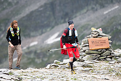 25.07.2015, Rodolfshütte, Uttendorf, AUT, Grossglockner Ultra Trail, 50 km Berglauf, im Bild Läufer am Kalser Tauern // runner during the Grossglockner Ultra Trail 50 km Trail Run from Kals arround the Grossglockner to Kaprun. Uttendorf, Austria on 2015/07/25. EXPA Pictures © 2015, PhotoCredit: EXPA/ Johann Groder