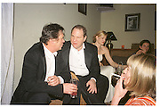 Harvey Weinstein. Miramax post Bafta's party. Noble Rot. 9 April 2000. © Copyright Photograph by Dafydd Jones 66 Stockwell Park Rd. London SW9 0DA Tel 020 7733 0108 www.dafjones.com