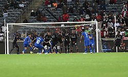 South Africa: Johannesburg: Orlando Pirates and Cape Town City  Ayanda Patosi takes a free kick during the Premier Soccer League (PSL) at Orlando Stadium in Soweto, Gauteng.<br />19.09.2018<br />Picture: Itumeleng English/African News Agency (ANA)