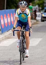 Jani Brajkovic at Slovenian National Championships in Road cycling, 178 km, on June 28 2009, in Mirna Pec, Slovenia. (Photo by Vid Ponikvar / Sportida)