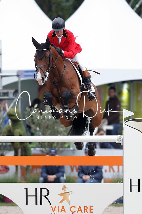 Lansink Jos, (BEL), For Cento<br /> Longings Grand Prix Port of Rotterdam<br /> CHIO Rotterdam 2015<br /> © Hippo Foto - Dirk Caremans<br /> 21/06/15