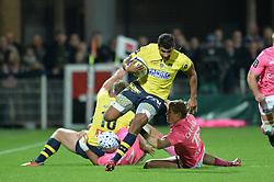 October 28, 2017 - Clermont-Ferrand - Stade Marcel, France - Wesley Fofana (asm) vs Tony ensor  (Credit Image: © Panoramic via ZUMA Press)