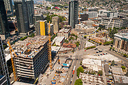 2018 JUNE 19 - Construction and buildings, South Lake Union, Seattle, WA, USA. By Richard Walker