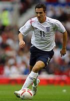 Photo: Paul Thomas.<br /> England v Andorra. European Championships 2008 Qualifying. 02/09/2006.<br /> <br /> Stuart Downing of England.
