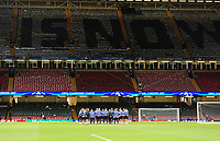 A general view of the Principality Stadium during Real Madrid's training session<br /> <br /> Photographer Kevin Barnes/CameraSport<br /> <br /> UEFA Champions League Final - Training session - Juventus v Real Madrid - Friday 2nd June 2017 - Principality Stadium - Cardiff<br />  <br /> World Copyright © 2017 CameraSport. All rights reserved. 43 Linden Ave. Countesthorpe. Leicester. England. LE8 5PG - Tel: +44 (0) 116 277 4147 - admin@camerasport.com - www.camerasport.com