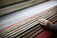 Silk weaving in Van Phuc Village, Ha Dong District, Hanoi, Vietnam, Southeast Asia