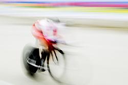 September 19, 2017 - Bergen, NORWAY - 170919 A cyclist competes during the Women Elite Individual Time Trial on September 19, 2017 in Bergen..Photo: Vegard Wivestad GrÂ¿tt / BILDBYRN / kod VG / 170017 (Credit Image: © Vegard Wivestad Gr¯Tt/Bildbyran via ZUMA Wire)