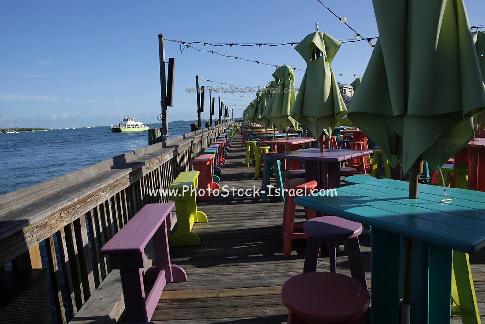 Morning at Sunset Pier, Key West, Florida