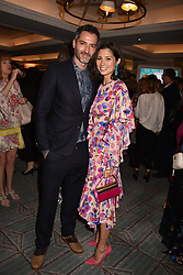 Jasmine Hemsley and Nick Hooper at the Fortnum & Mason Food and Drink Awards, Fortnum & Mason Food and Drink Awards, London, England. 10 May 2018.