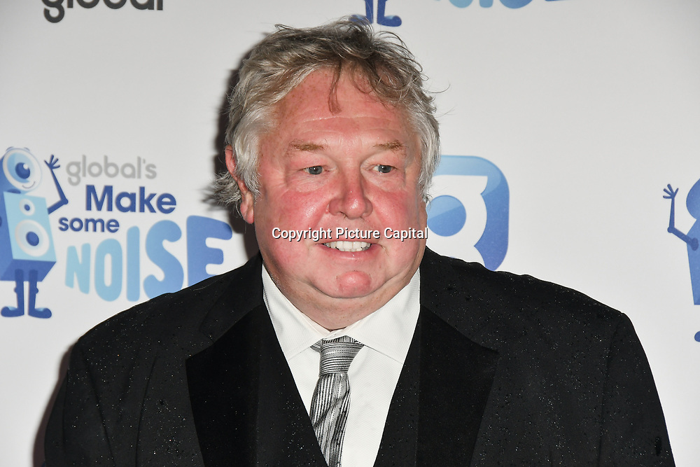 Nick Ferrari arrivers at the Global's Make Some Noise Night at Finsbury Square Marquee on 20 November 2018, London, UK.