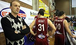 Trener Zahodne ekipe Jure Zdovc na Dnevu slovenske moske kosarke, 26. decembra 2008, na Planini, Kranj, Slovenija. (Photo by Vid Ponikvar / Sportida)