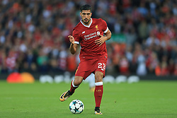23rd August 2017 - UEFA Champions League - Play-Off (2nd Leg) - Liverpool v 1899 Hoffenheim - Emre Can of Liverpool - Photo: Simon Stacpoole / Offside.