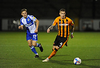 Hull City's Jordy de Wijs during the game<br /> <br /> Photographer Ian Cook/CameraSport<br /> <br /> The EFL Sky Bet League One - Bristol Rovers v Hull City - Tuesday 27th October 2020 - Memorial Stadium - Bristol<br /> <br /> World Copyright © 2020 CameraSport. All rights reserved. 43 Linden Ave. Countesthorpe. Leicester. England. LE8 5PG - Tel: +44 (0) 116 277 4147 - admin@camerasport.com - www.camerasport.com