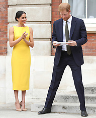 Duke and Duchess of Sussex attend the 'Your Commonwealth' Youth Challenge Reception - 5 July 2018