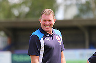 Dave Beasant former Wimbledon AFC Goalkeeper now coach at Reading FC prior the Pre-Season Friendly match between AFC Wimbledon and Reading at the Cherry Red Records Stadium, Kingston, England on 23 July 2016. Photo by Stuart Butcher.