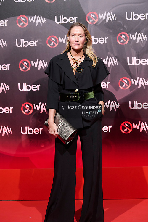 Fiona Ferrer attends 'Wah' Musical Show World Premiere Red Carpet at IFEMA on October 7, 2021 in Madrid, Spain