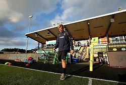 Sam Olver of Worcester Warriors arrives at Kingston Park ahead of the Aviva Premiership Season opener against Newcastle Falcons - Mandatory by-line: Robbie Stephenson/JMP - 01/09/2017 - RUGBY - Kingston Park - Newcastle upon Tyne, England - Newcastle Falcons v Worcester Warriors - Aviva Premiership