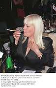 Wendy Richard. Variety Club 46th annual Dinner & Ball.Great Room, Grosvenor House. London.7/3/98. film 98131f32<br />© Copyright Photograph by Dafydd Jones<br />66 Stockwell Park Rd. London SW9 0DA<br />Tel 0171 733 0108