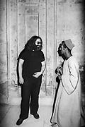 Jerry Garcia exploring the tombs at Sakkara – Djoser's funery complex - Egypt 1978