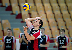 Yves Kruyner of Belgium during volleyball match between National Teams of Slovenia and Belgium of 2011 CEV Volleyball European League Men - Pool A, on July 9, 2011, in  Arena Ljudski vrt Lukna, Maribor, Slovenia. Slovenia defeated Belgium 3-1. (Photo by Vid Ponikvar / Sportida)