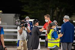Werth Isabell, GER, Von Bredow Max, GER<br /> Olympic Games Tokyo 2021<br /> © Hippo Foto - Stefan Lafrentz<br /> 28/07/2021