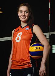 07-04-2014 NED: SELECTIE JONG ORANJE: ARNHEM<br /> Volleybalteam Jong Oranje / Romee Polman<br /> ©2014-FotoHoogendoorn.nl