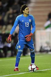 November 10, 2017 - Bruxelles, Belgique - Guillermo Ochoa goalkeeper of Mexico (Credit Image: © Panoramic via ZUMA Press)
