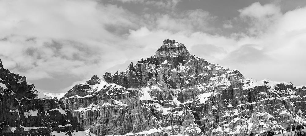 Mt Deltaform at Valley of the Ten Peaks, Moraine Lake, Banff National Park, Alberta