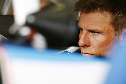 April 6, 2018 - Ft. Worth, Texas, United States of America - April 06, 2018 - Ft. Worth, Texas, USA: Jamie McMurray (42) straps into his car to practice for the My Bariatric Solutions 300 at Texas Motor Speedway in Ft. Worth, Texas. (Credit Image: © Chris Owens Asp Inc/ASP via ZUMA Wire)