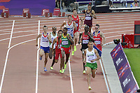 LONDON OLYMPIC GAMES 2012 - OLYMPIC STADIUM , LONDON (ENG) - 05/08/2012 - PHOTO : VINCENT CURUTCHET / KMSP / DPPI<br /> ATHLETICS - MEN'S 1500M - SEMIFINALS - YOANN KOWAL (FRA)