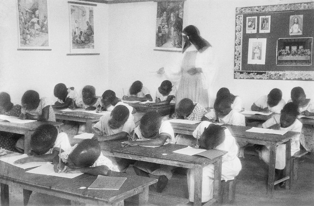 Mission School on Nsambya Hill, Kampala, Uganda, Africa, 1937