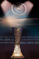 Fotball<br /> UEFA Europa League<br /> Foto: DPPI/Digitalsport<br /> NORWAY ONLY<br /> <br /> FOOTBALL - MISCS - UEFA EUROPA LEAGUE 2010 - 1/16 FINAL DRAW - 18/12/2009<br /> <br /> EUROPA LEAGUE TROPHY