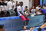 DESCRIZIONE : Campionato 2014/15 Serie A Beko Dinamo Banco di Sardegna Sassari - Grissin Bon Reggio Emilia Finale Playoff Gara6<br /> GIOCATORE : Cheikh Mbodj<br /> CATEGORIA : Ritratto Before Pregame<br /> SQUADRA : Dinamo Banco di Sardegna Sassari<br /> EVENTO : LegaBasket Serie A Beko 2014/2015<br /> GARA : Dinamo Banco di Sardegna Sassari - Grissin Bon Reggio Emilia Finale Playoff Gara6<br /> DATA : 24/06/2015<br /> SPORT : Pallacanestro <br /> AUTORE : Agenzia Ciamillo-Castoria/C.Atzori
