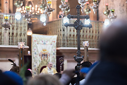 20 April 2019, Jerusalem: The Latin Patriarchate of Jerusalem marks Easter Sunday in the Church of the Holy Sepulchre.
