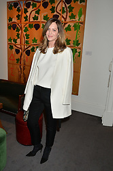 TRINNY WOODALL at a private view of Made in Britain featuring contents from The Ivy sold to benefit Child Bereavement UK held at Sotheby's, 34-35 New Bond Street, London on 23rd March 2015.