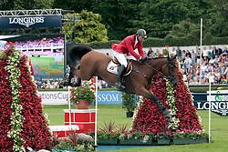 Mathy Francois Jr (BEL) - D'Athlantiqiue Royale<br /> Dublin Horse Show 2012<br /> © Hippo Foto - Beatrice Scudo