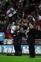 Photo: Tony Oudot/Richard Lane Photography. <br /> England v Switzerland. International Friendly. 06/02/2008.<br /> England manager Fabio Capello before the game
