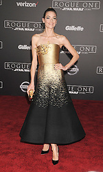 December 10, 2016 - Los Angeles, CA, United States of America - Jaime King arriving at the Star Wars ''Rogue One'' World Premiere at the Pantages Theater on December 10 2016 in Hollywood, CA  (Credit Image: © Famous/Ace Pictures via ZUMA Press)