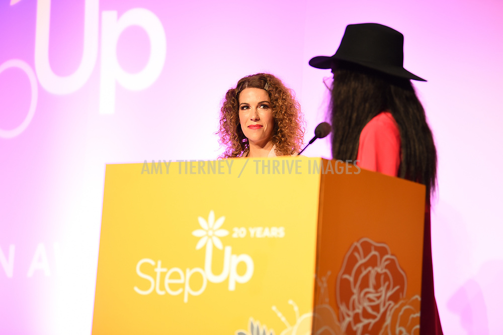 Jenni Luke, CEO Step Up Women's Network, and Kalen Aubry Israel