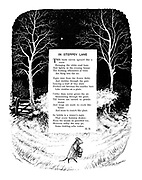 In Steppey Lane (illustrated poem).