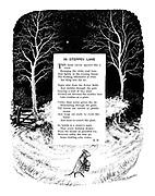 In Steppey Lane (illustrated poem).